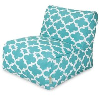 Majestic Home Goods Trellis Bean Bag Lounger Chair | Overstock.com Shopping - The Best Deals on Bean & Lounge Bags