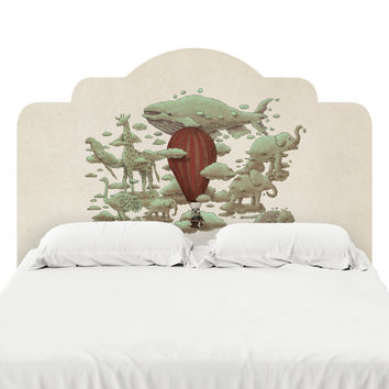 Cloud Watching Headboard Decal
