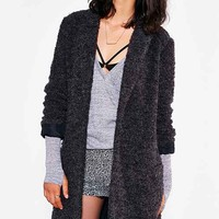 Silence + Noise Relaxed Blazer Coat- Dark Grey