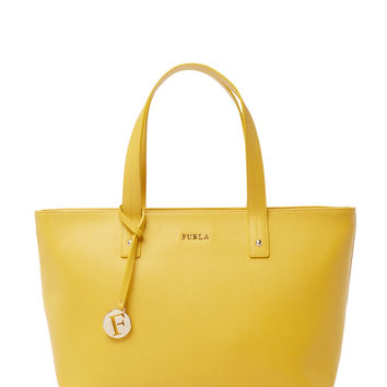 Furla Women's Daisy Medium East/West Tote - Yellow