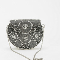 Ecote Ophelia Metal Crossbody Bag - Urban Outfitters