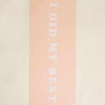 Exercising Expectations Yoga Mat | Mod Retro Vintage Decor Accessories | ModCloth.com