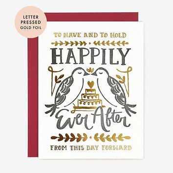 Paper Pony Co. - Happily Ever After Card