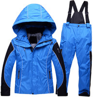 Minus 30 Degrees Sporty Ski Suit Children Outerwear Warm Coat Kids Clothes Set Waterproof Windproof Boys Girls Jackets For 5 12T-in Clothing Sets from Mother & Kids on Aliexpress.com | Alibaba Group