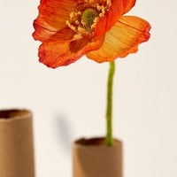 Mini Poppy Faux Flower - Set Of 5 | Urban Outfitters