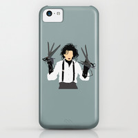 edward scissorhands iPhone & iPod Case by Live It Up