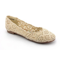 CL By Laundry Women's 'Genuine' Basic Textile Casual Shoes | Overstock.com Shopping - The Best Deals on Flats