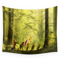 Society6 Secret Parade Wall Tapestry