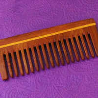 Designer Bridal hair  comb comfort and easy ti use wooden matty finish FINISH ,BEAUTIFUL CRAFT