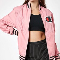 DCCKJH6 Champion Satin Bomber Jacket
