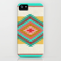 FIESTA (teal) iPhone Case by Bianca Green | Society6