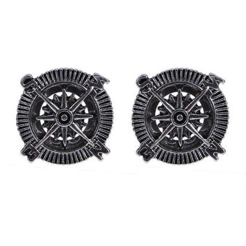 ac DCCKO2Q 1pair Men's Ear Gauges Plugs and Tunnels 6/8/10/12/14/16mm Ear Expanders Stainless Steel Body Piercing Jewelry Piercing for Men