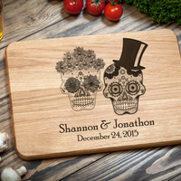 Cutting Board, Kitchen board, Personalized Wedding Gift
