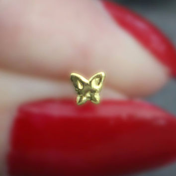 Butterfly Nose Stud