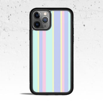 Pastel Stripes Phone Case for Apple iPhone