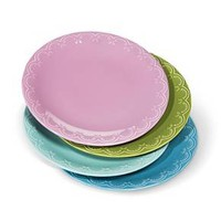 Boho Boutique Camille Solid Dinner Plate - Set of 4 : Target