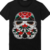 "Men's ""Stormtrooper"" Tee by Mindzai Creative (Black)"