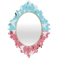 Amy Smith They Come In All Sizes Baroque Mirror