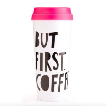 ban.do but first, coffee hot stuff thermal mug