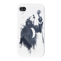 Wolf Song 3 Full Wrap High Quality 3D Printed Case for iPhone 4 / 4s by Balazs Solti
