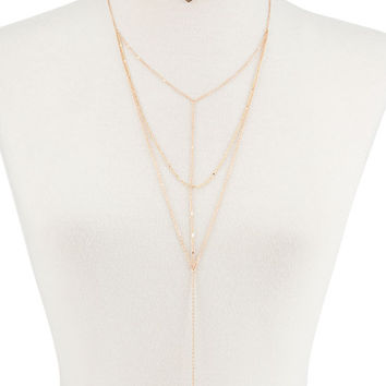 FULL TILT Multi Chain Layer Necklace | Necklaces
