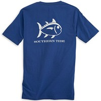Weathered Skipjack Tee Shirt in Blue Cove by Southern Tide