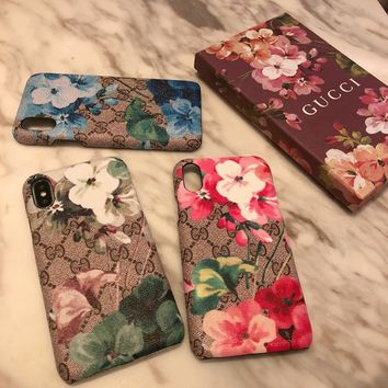 GUCCI GG Blooms iPhone Case