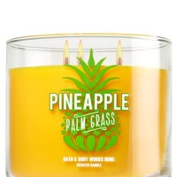 3-Wick Candle Pineapple Palm Grass