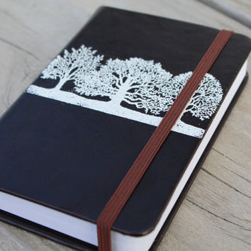 Tree Embossed Journal Sketch Book