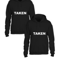 taken couple matching sweatshirt - Couple hoodie