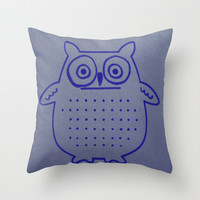 OWL always love you Throw Pillow by Lucine