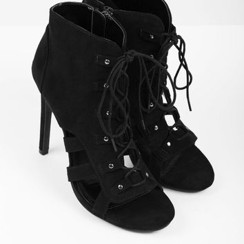 Evelyn Cut Out Booties