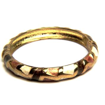 Art Deco Enamel Bangle Bracelet