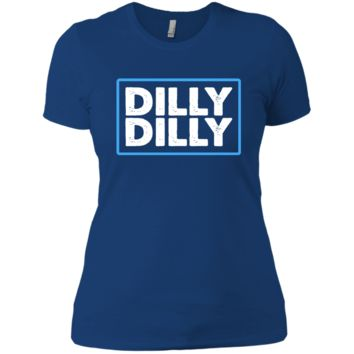 Bud Light Official Dilly Dilly T-Shirt NL3900 Next Level Ladies' Boyfriend T-Shirt