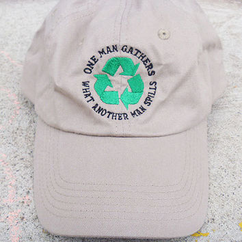 Grateful Dead One Man Gathers What Another Man Spills Baseball Cap Hat