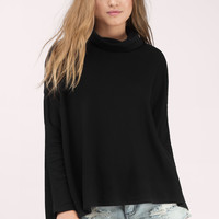 Mary Kate Cowl Neck Top