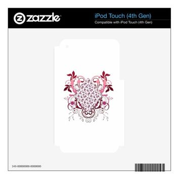 Diamond Decals For iPod Touch 4G
