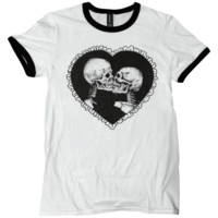 Love After Death Ringer Shirt