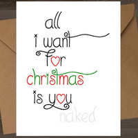 naughty christmas card 8==D funny christmas card naughty christmas holiday card funny holiday card naughty xmas card sexy fuck sex blowjob