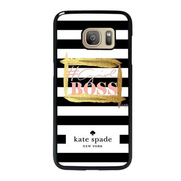 KATE SPADE GIRL BOSS Samsung Galaxy S7 Case