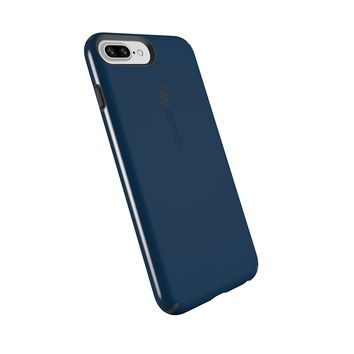 Speck Products CandyShell Cell Phone Case for iPhone 8 Plus (Also fits 7 Plus and 6S/6 Plus) - Deep Sea Blue/Slate Grey