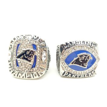 2015 2003 Carolina panthers championship ring manufacturers fast shipping