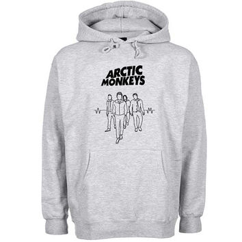band arctic monkeys Hoodie Sweatshirt Sweater Shirt Gray and beauty variant color for Unisex size