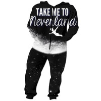 """Take me to Neverland"" Onesuit"