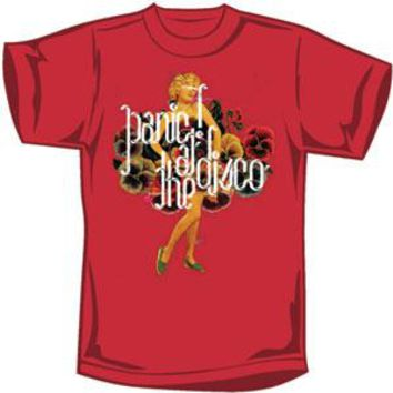 Panic! At The Disco Men's  T-shirt Red