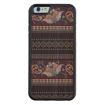 stylish floral pattern carved® cherry iPhone 6 bumper