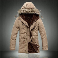 Winter Jacket Men Parkas Coat Feather Down Jacket Abrigos Hombres Invierno Chaqueta Plumas (Asian shipping code) [8833922572]