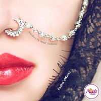 Madz Fashionz UK: Fatihasworld Bridal Nose Ring Nath Bullaku Nathu