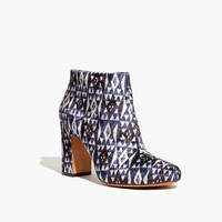 The Nealy Boot in Print Velvet