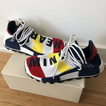 "Billionaire Boys Club x Adidas Nmd Hu Pharrell BBC ""HEART/MIND"""